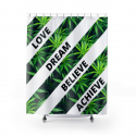 My Cannabis Inspiration Shower Curtain