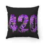 Cannabis 420 Polyester Square Pillow