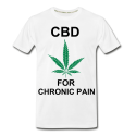 CBD For Chronic Pain Men's Organic T-Shirt