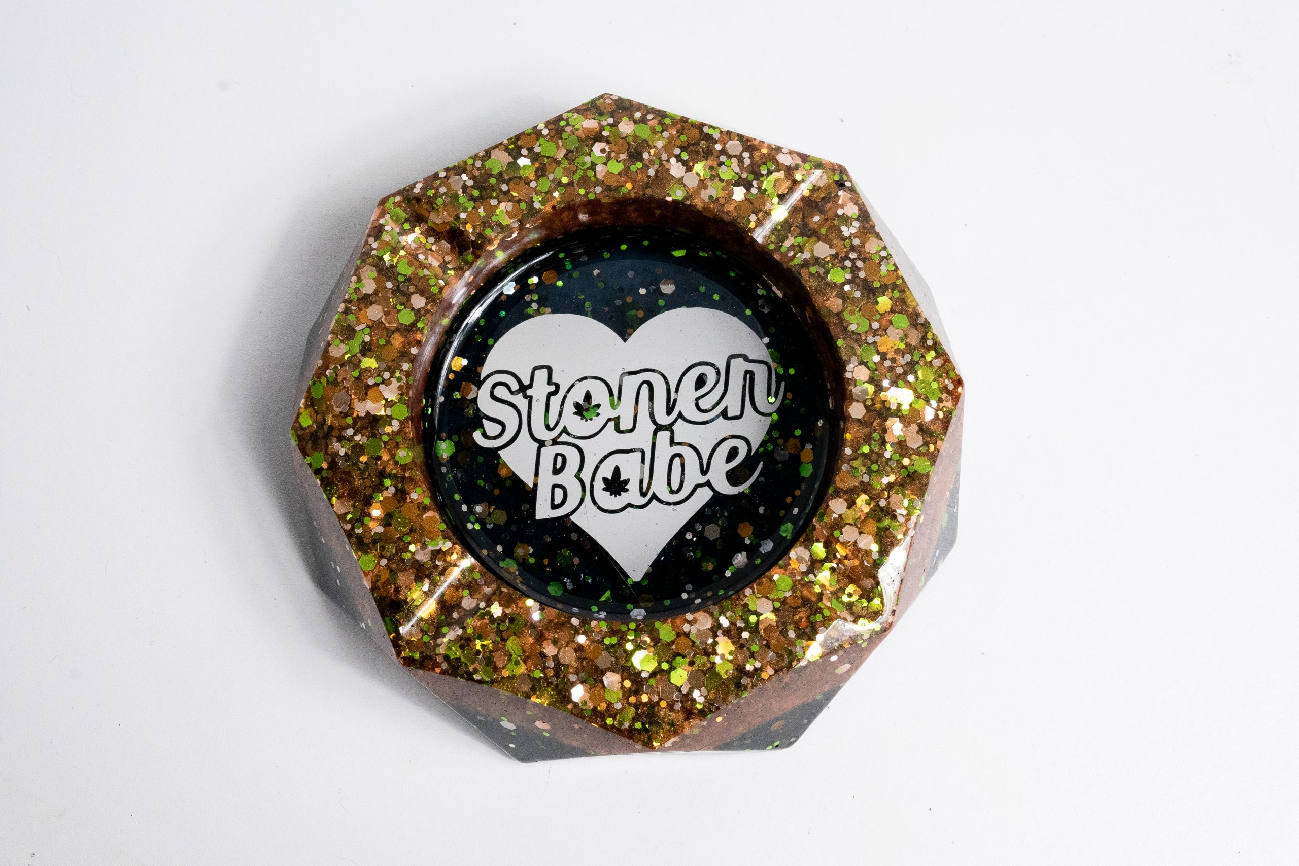 Stoner Babe Ashtray – Copper & Black