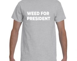 Gray Weed for President Shirt