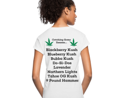 Catching Some Zzzzzzz…. Ladies Relaxed Fit T-Shirt