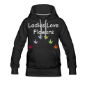 Ladies Love Flowers Premium Hoodie
