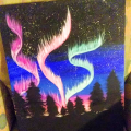 11×12 Northern lights